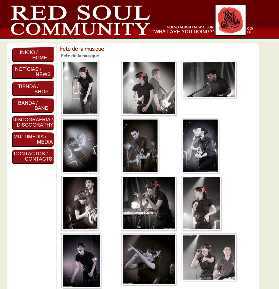 Red Soul Community Web Site