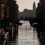 Murano island in Venice Lagoon