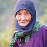 Elderly woman : PU Luong Nature reserve , Vietnam 2013 - Reserve Naturelle de Pu Luong au Vietnam