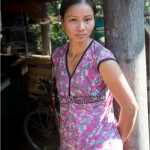 Young Woman Portrait : PU Luong Nature reserve , Vietnam 2013 - Reserve naturelle de Pu Luong au Vietnam
