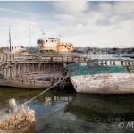 épaves - port de Camaret