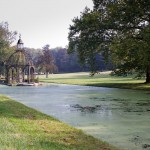 Ile d'Amour , parc du chateau de Chantilly
