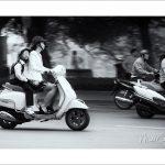 morning rush in Hanoï
